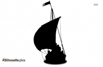 Viking Longship Silhouette Image And Vector