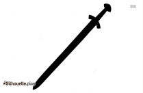 Viking Sword Silhouette