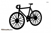 Old Bicycle Silhouette