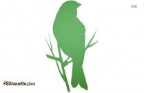 Vintage Birds Silhouette Clip Art