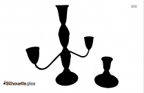 Vintage Candle Holders Silhouette