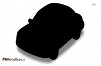 Cartoon Car Clipart Vector Silhouette
