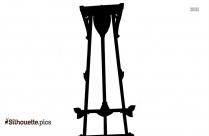 Vintage Easel Logo Silhouette For Download