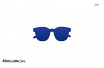 Vintage Eyeglasses Silhouette Free Vector Art