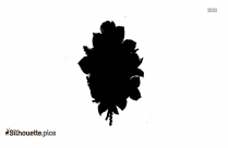 Carnation Silhouette Illustration