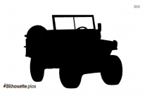 Cartoon Truck Icon Silhouette