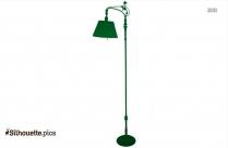 Vintage Lamp Clipart Silhouette