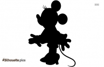 Vintage Minnie Mouse Silhouette