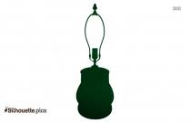 Floor Lamp Silhouette Image