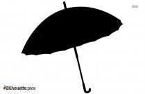 Umbrella Clipart Silhouette Vector And Graphics Illustration