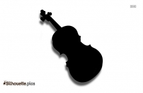 Fiddle Clipart || Strings Silhouette
