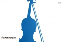 Black And White Cello Silhouette Vector
