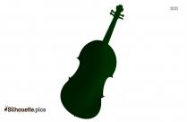 Cello Silhouette Art