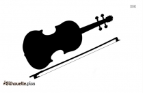 Violin String Instrument Silhouette Image