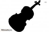 Violin Vector Silhouette Picture