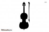 Violin Silhouette Image Vector