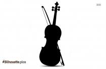 Violin Clip Art Image Silhouette