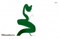 Viper From Kung Fu Panda Clipart Silhouette