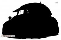 Volkswagen Beetle Bug Silhouette Picture