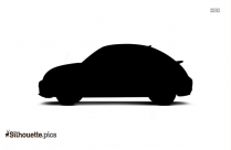 Volkswagen Beetle Car Silhouette Clipart