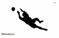Volleyball Silhouette Vector And Graphics