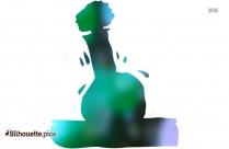 Volumetric Flash Chemistry Lab Drawing Silhouette Image
