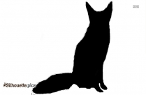 Vulpes Silhouette Vector And Graphics