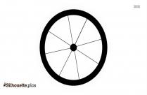 Wagon Wheel Clip Art Silhouette