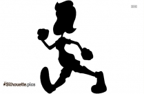 Children Walking Silhouette Drawing, Road Signs Vector Art & Graphics