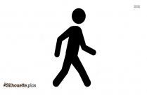 Person Walking Silhouette Drawing