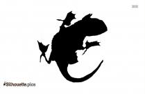Wildcat Silhouette Illustration