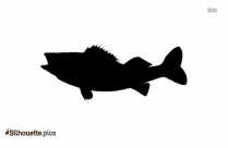 Herring Fish Logo Silhouette For Download