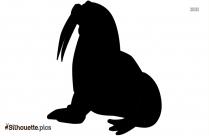 Walrus Art Symbol Silhouette