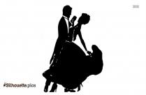 Waltz Lessons Ballroom Dance Silhouette