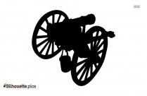 War Cannon Silhouette Picture