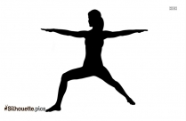 Warrior Iii Yoga Pose Silhouette