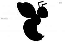 Fly Bug Silhouette