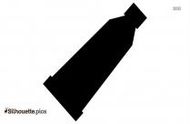 Margarita Bottle Silhouette Free Vector Art