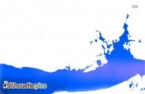 Water Splash Vector Free Silhouette