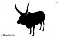 Watusi Cattle Animal Silhouette