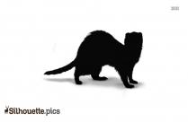 Weasel Silhouette Ferret