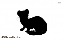Weasel Silhouette Animal