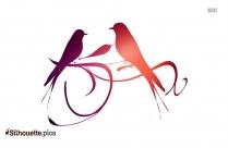 Wedding Bird Clipart Silhouette