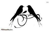 Wedding Birds Silhouette