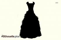 Wedding Dress Silhouette Design