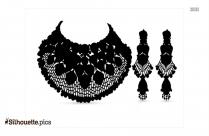Wedding Jewelry Silhouette Clipart