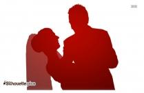 Wedding Swing Dance Symbol Silhouette
