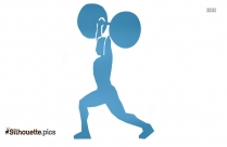 Weightlifter Silhouette Vector And Graphics