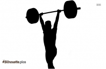 Full Body Workout Clipart, Fitness Silhouette