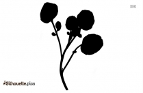 Welcome Flower Silhouette Clip Art